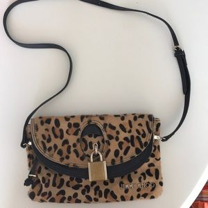 Jimmy Choo Leopard Purse